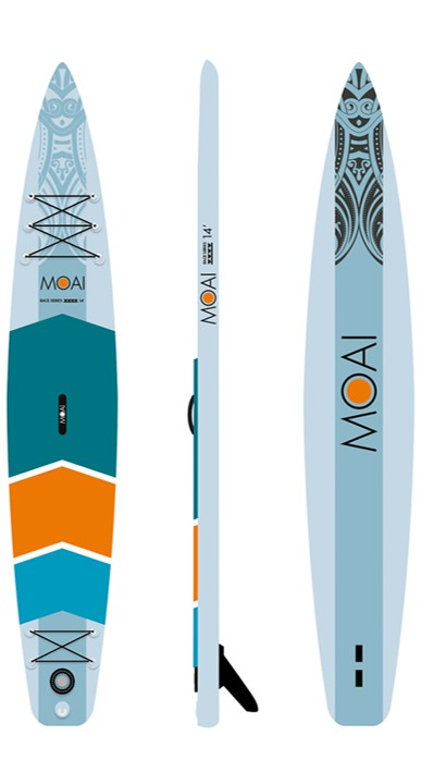 MOAI 14' Race SUP board