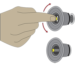 Halkey Roberts SUP ventiel